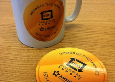 Theo Paphitis #SBS Winners Promotional Items