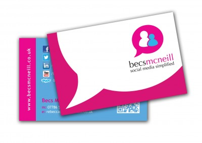 Becs McNeill Business Cards