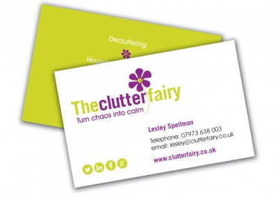 The Clutter Fairy Business Cards