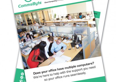 Comms Byte A5 Leaflets