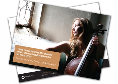 Estilo String Quartet A6 Postcards
