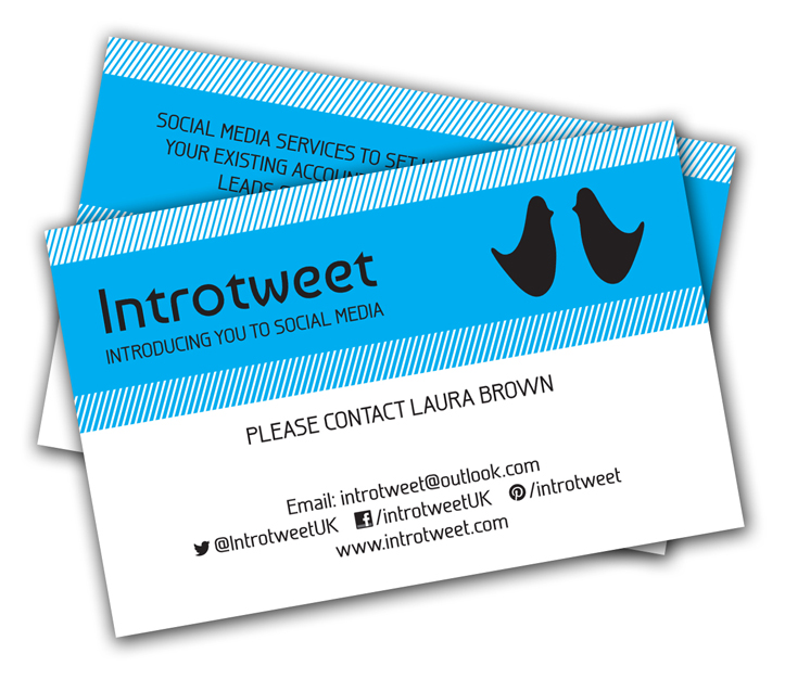 Introtweet UK Business Cards