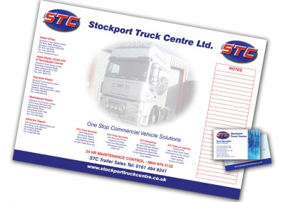 Stockport Truck Centre Stationery