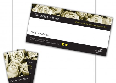 The Antique Rose Stationery Pack