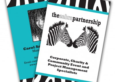 The Zebra Partnership Business Cards