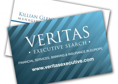 Veritas Recruitment Business Cards