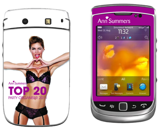 Ann Summers Custom Phone Vinyl and Hard Cases