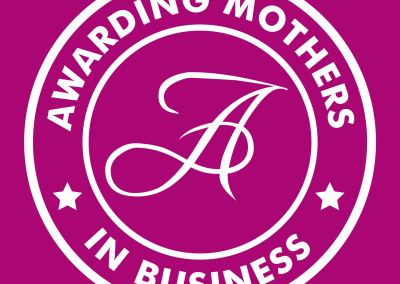 Awarding Mothers #MumsInBizHour Branding and Twitter Badge