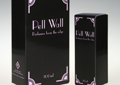Pell Wall Perfumes Packaging