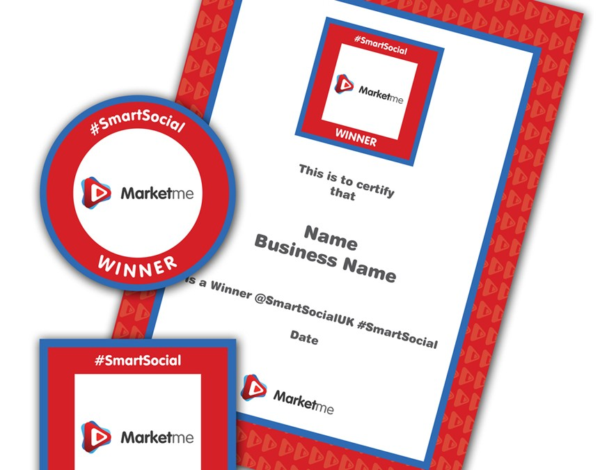 Marketme #SmartSocial Winners Badge