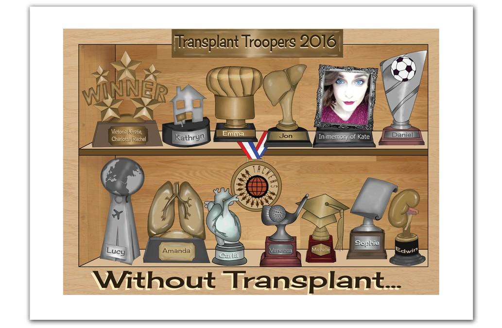 Transplant Troopers Calendar