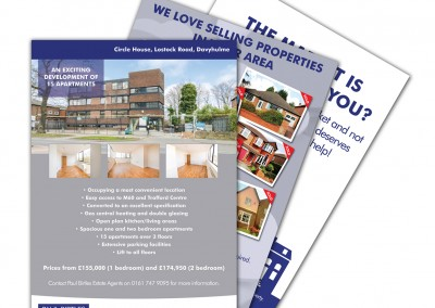 Paul Birtles Estate Agents Advert Designs