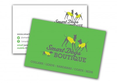 Smart Dogs Boutique Business Cards