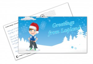 Aqua Design Group Andy Quinn Lapland Postcard