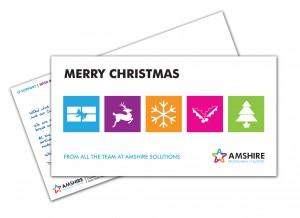 Amshire Christmas Postcard 2015