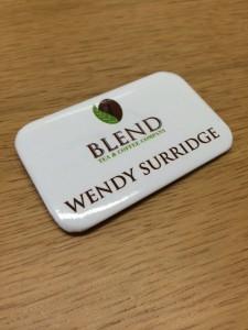 Blend Name Badge