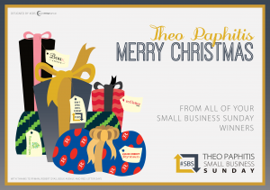 Theo Paphitis #SBS Merry Christmas