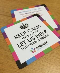 Amshire Keep Calm Drip Mats