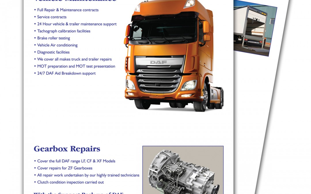 North West Trucks Leaflets