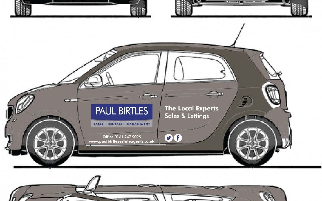 Paul Birtles Estate Agents Vehicle Graphics