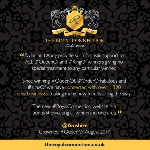 the-royal-connection-testimonial-amshire