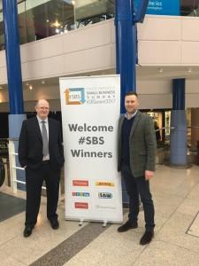 Fellow winners @BridgerHowes #SBSevent2017