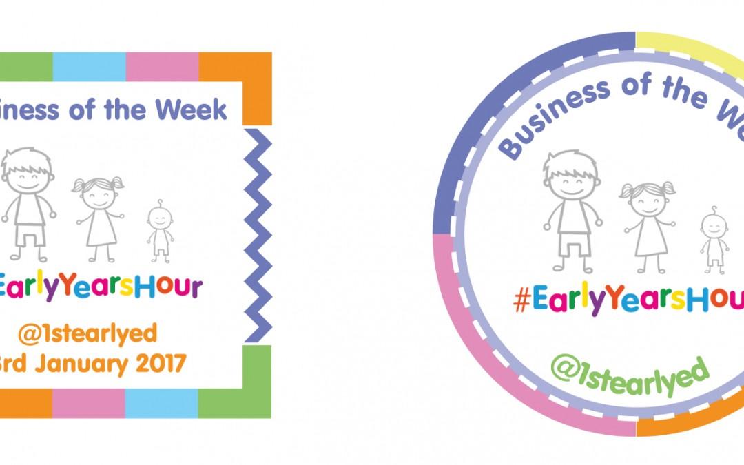 #EarlyYearsHour Winners Badge