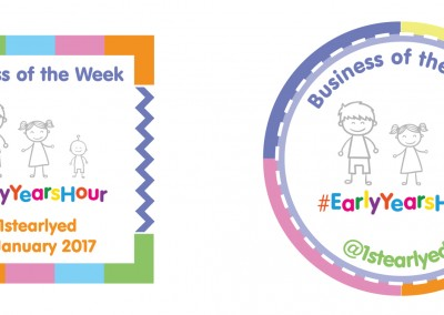 #EarlyYearsHour Winners Badge