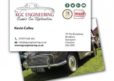KGC Engineering Business Cards
