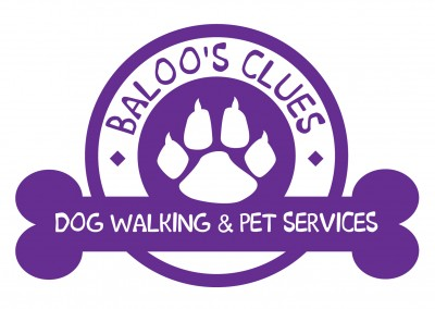 Baloo's Clues Dog Walking & Pet Services Branding Design