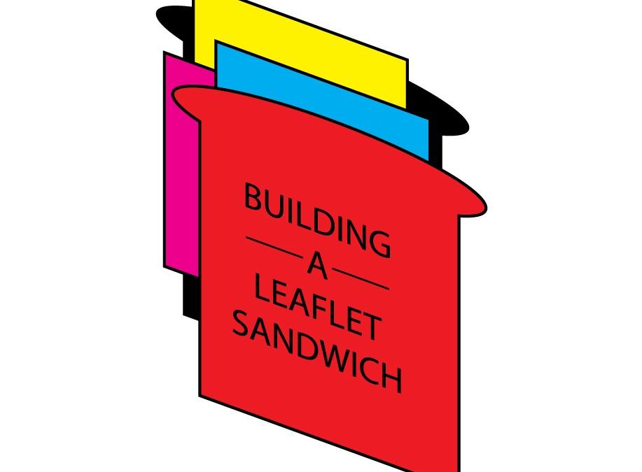 Building a leaflet sandwich.. yummy!