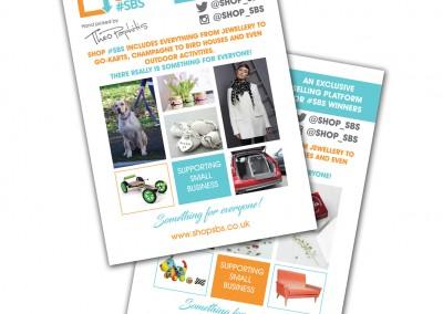 Shop #SBS A5 Leaflet Design