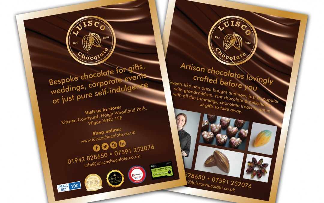 Luisco Chocolate A5 Leaflets