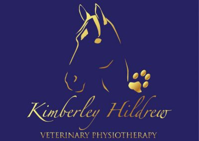 Kimberley Hildrew Veterinary Physiotherapy Branding Design