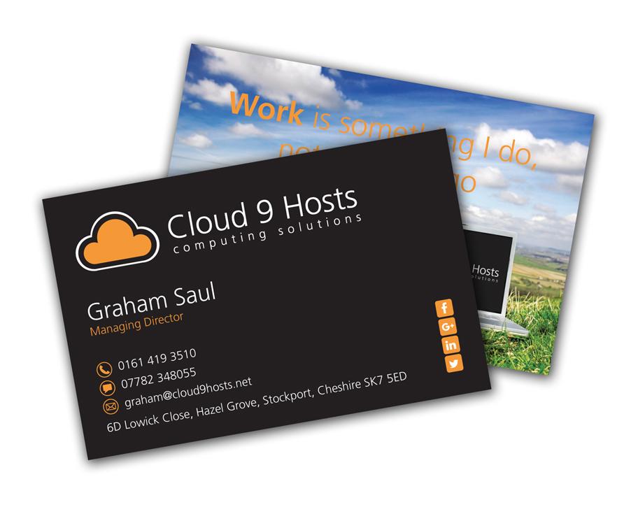 Cloud 9 Hosts Business Cards