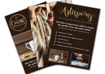 Cocoa Delicious A4 POS Posters