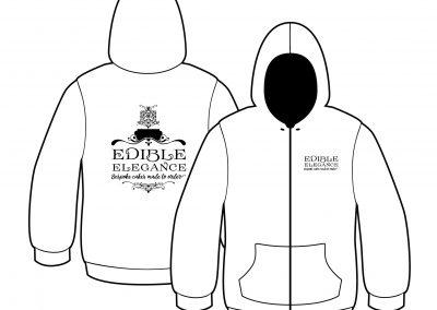 Edible Elegance Branded Hoodie