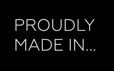 Proudly Made in…