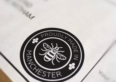 Made in Manchester Stickers