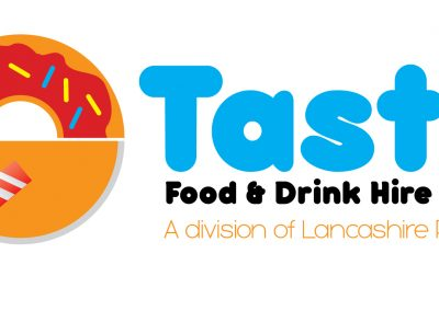 Tasty Food and Drink Hire Branding Design