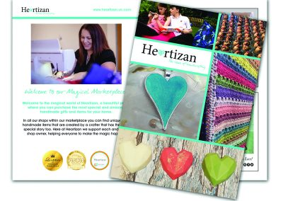 Heartizan A5 Brochure