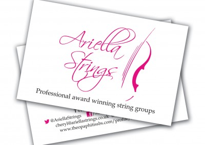 Ariella Strings Business Cards