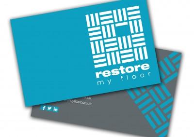 Restore My Floor Business Cards