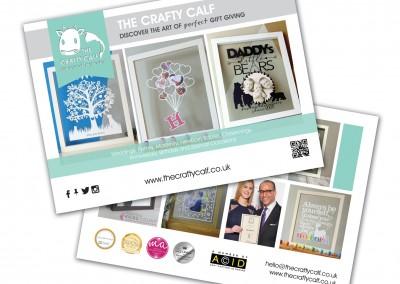 The Crafty Calf A5 Leaflets