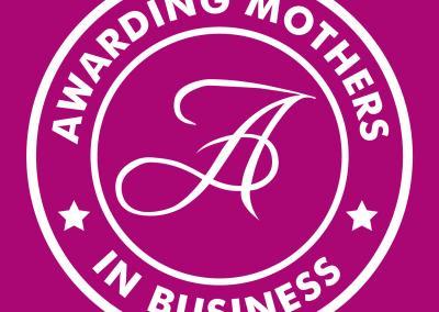 Awarding Mothers #MumsInBizHour Branding and Twitter Badge