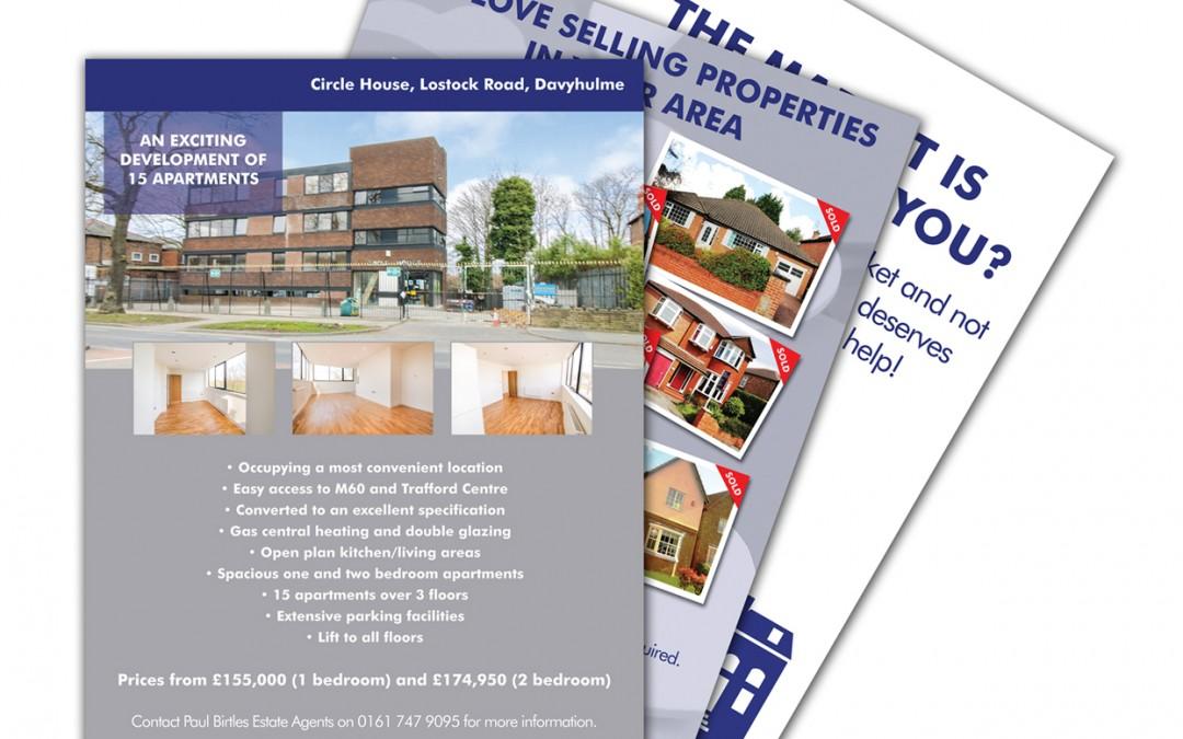 Paul Birtles Estate Agents Advert Designs
