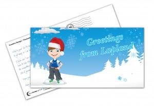 Aqua Design Group Andy Quinn Lapland Postcard