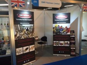 GWR Fasteners Exhibition Stand