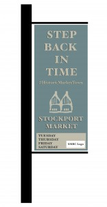 Stockport Market A6 Banner Graphic