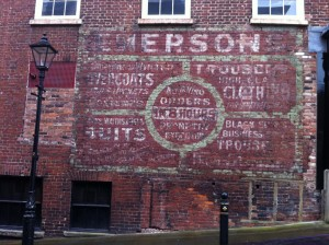 Emerson Ghost Sign - Stockport Market